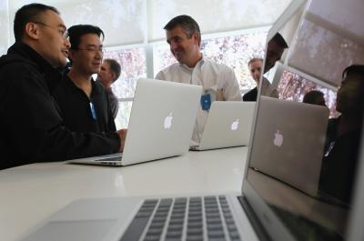 Hvordan endre fargene på en MacBook-skjermen