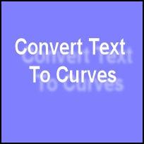 Slik konverterer tekst til Curves i Paint Shop Pro Photo XI