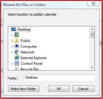 Hvordan lage en Desktop Calendar