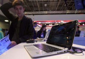 Hvordan utføre en systemgjenoppretting på en HP bærbar Mens i oppstart-modus