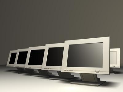 Hvordan koble en bærbar PC LCD til en PC