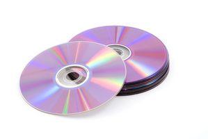 Slik brenner du en lysbildeserie på en DVD