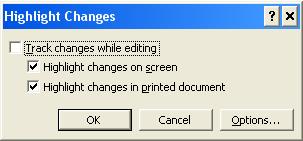 Slik fjerner markeringer fra MS Word