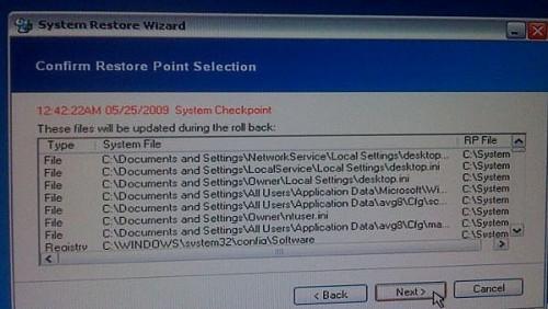 Hvordan utføre en XP Systemgjenoppretting Fra ERD Commander 2005