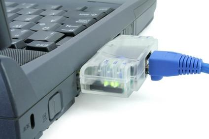Hvordan koble bærbare PC til kablet nettverk