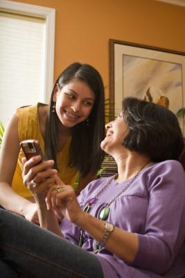 Hvordan bruke eHome Infrarød Med en mobiltelefon