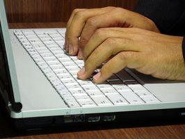 Hvordan åpne en ny Word-dokument med tilgang