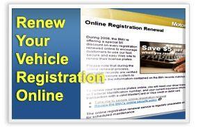 Hvordan Renew Vehicle Registrering Online