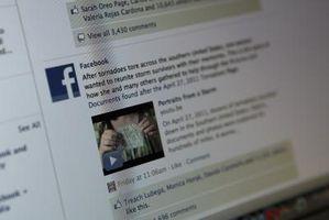 Når jeg bruker du knappen på Facebook Hva skjer?