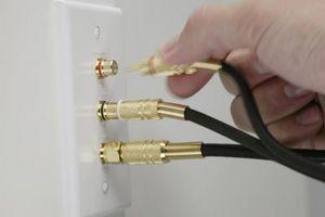 Hvordan til Split Kabel-TV og internett
