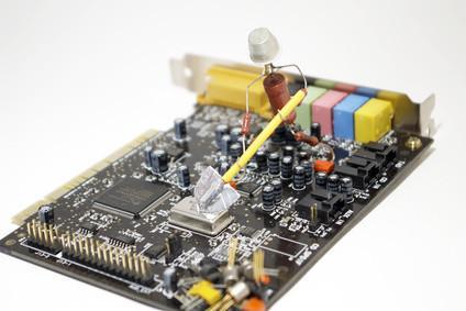 Slik installerer lydkortdrivere