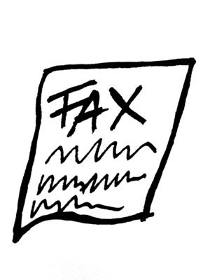 Hvordan sende en faks fra Exchange