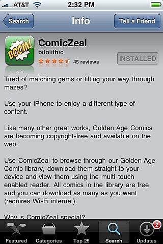 Hvordan Les Tegneserier på en iPhone