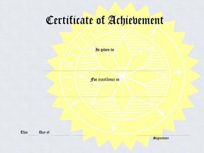 Hvordan lage et sertifikat i Word