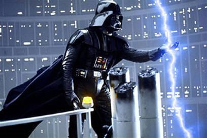 Hvordan lage Star Wars Force Lightning Med Photoshop
