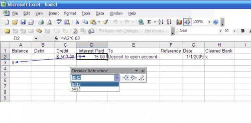 Hvordan fikse Rundskriv formler i Excel