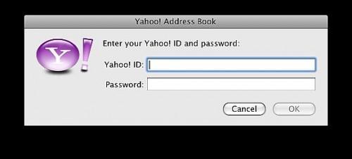 Slik Sync Yahoo! og Google Contacts Med Apples adressebok