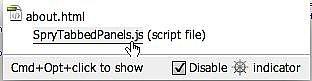 Hvordan bruke kodenavigering i Dreamweaver CS4