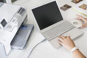 Hvordan koble en skriver til en HP Laptop
