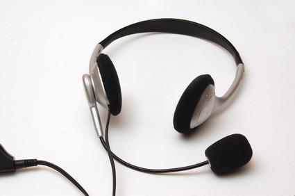 Hvordan spille inn via et headset og lydkort